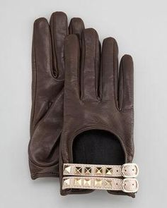 Valentino Rocketed Driving Gloves
