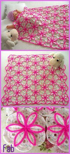 Crochet Princessa Baby Blanket Pattern