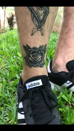 #tattoos #ink #rosetattoo #rose #oldschool
