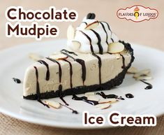 Mud Pie with Homemade Decaf Coffee Ice Cream. I just want the pie Coffee Ice Cream, Ice Cream Pies, Ice Cream Desserts, Frozen Desserts, Ice Cream Recipes, Cream Cake, Tart Recipes, Gourmet Recipes