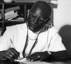 """Birago Diop (1906-1989) was a Senegalese poet and story-teller, whose work restored the general interest in African folktales and promoted him into one of the most outstanding African francophone writers. One of his poems, """"Souffles"""", is a tribute to the original African culture and embodied the movement of tacking back this culture denied during colonisation.  1) Poem """"Souffles"""" recited (French): https://www.youtube.com/watch?v=Da 2) Wikipedia :https://en.wikipedia.org/wiki/Birago_Diop"""