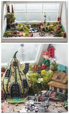 Constructing an epic indoor fairy garden, fairy home and fairy house #fairygarden #fairyhome #fairyhouse
