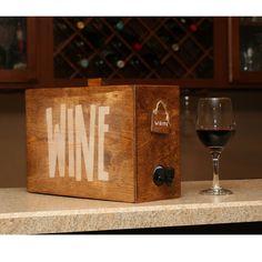 Boxed wine cover wine decanter wine dispenser barrel wine box