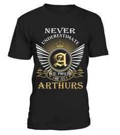 ARTHURS  Funny Art T-shirt, Best Art T-shirt