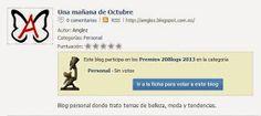Amglez: una mañana de octubre: Premios 20blogs