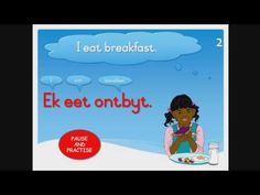 (196) ESCS EDUFRIENDS - Phase 2 Book 5 - EET / EAT (Afrikaans reading exercises for English learners) - YouTube Afrikaans Language, Money Book, Christian School, Animal Books, Single Words, Phase 2, Learn To Read, Primary School, Writing A Book