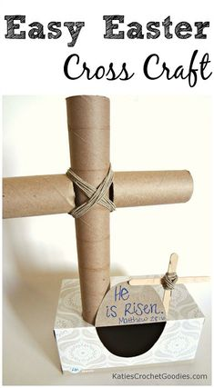 Paper Towel and Toilet Paper Cross