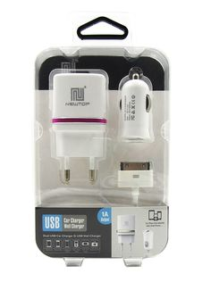 Cargador de Coche Universal, Cargador De Pared Universal y Cable Para iPhone 4 de 30 Pines modelo 46922 - Cargador de coche USB universal para que cargues todos tus dispositivos y no te quedes nunca sin batería en la carretera. Navega con el GPS de tu móvil escucha música, etc., y no te quedes sin batería mientras conduces. También trae un cargador de pared Universal para que puedas cargar tus disp... - http://buscacomercio.es/producto/cargador-de-coche-universal-cargado