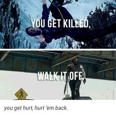 If Bucky can do it, so can you. (I'm looking at YOU, character who died in A:AOU!)