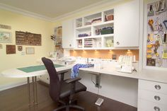 Sewing Craft Rooms Design Ideas, Pictures, Remodel and Decor