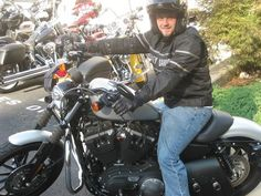Rider's Edge graduate Allen on his new HD Students, Motorcycle, Bike, Vehicles, Bicycle, Motorcycles, Bicycles, Car, Motorbikes