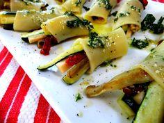 paccheri al forno con zucchine