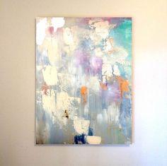 48x60 Large Canvas Art Amanda Faubus Gold by AmandaFaubusDesign