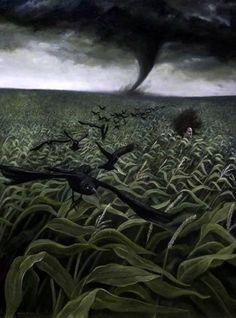 Andrea Kowch - Nel sentiero del vento