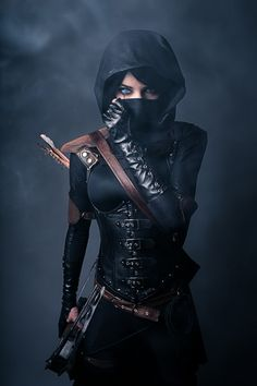 Female Garrett of Thief by Lyz Brickley
