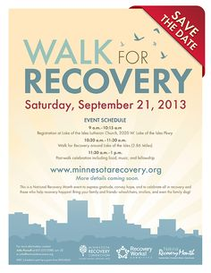 Save the Date!  #RecoveryWorks!