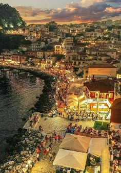 Come and go by the sea ~ Parga, Greece Photo by Wonderful Places, Great Places, Places To See, Beautiful Places, Greece Vacation, Greece Travel, Vacation Spots, Places Around The World, Around The Worlds