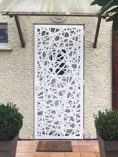 Africa's First and Biggest Laser Cut Building Addition Manufacturer Front Gate Design, Door Gate Design, Fence Design, Laser Cut Aluminum, Laser Cut Metal, Laser Cut Screens, Laser Cut Panels, Building An Addition, Column Covers
