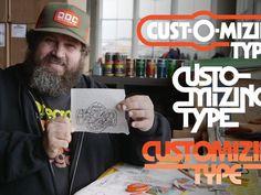 Customizing Type with Draplin Type Treatments, Icon Design, Icons, Illustrations, Graphic Design, Symbols, Illustration, Ikon, Visual Communication