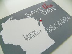 simple DIY save the date