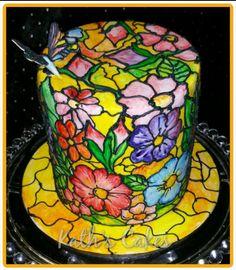 Stain Glass  - Cake by Cakemummy