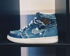 on sale c3cbf 15afd Air Jordan 1 High Washed Denim · Nike MagMagasin De Chaussure  NikeChaussures Nike GratuitesNike Air HuaracheChaussures De Course Pour Les  HommesNike Femmes