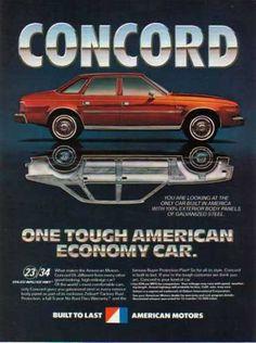 American Motors Concord Car – Red (1981)