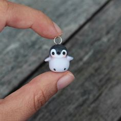 Baby Penguin Charm Necklace by TheLittleMew on Etsy