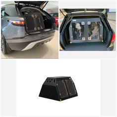 Range Rover Velar (2017 - Present) Dog Car Travel Crate- The DT 4 About Range Rover Velar (2017 - Present) Dog Car Travel Crate- The DT 4 The DT 4 is a great box for estate cars, Jeeps and SUV's such as Range Rover Velar (2017 - Present) and comes in three size options. The largest one (960mm) has two compartments with enough room for two medium to large dog. This crate comes with a removable centre divider which frees up more space if you need it. Our other DT4's (660mm and 500mm) have one… Pet Vet, Dog Crates, Stainless Steel Doors, Dog Car, Car Travel, Range Rover, Large Dogs, Door Design, Cool Suits