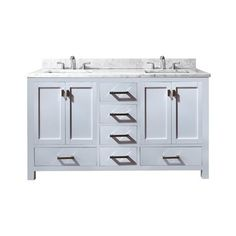 Avanity MODERO-VS60 60-in Single Bathroom Vanity with Counter Top and Sink from lowes