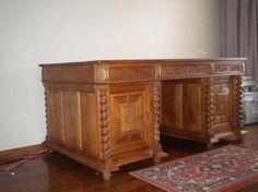 Antique Partner's Desk | Antiques | Gumtree Australia South Canberra - Narrabundah