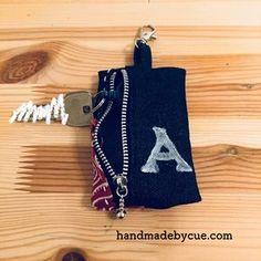 ランドセルに付けられるキーケースの作り方と小学生に安全に鍵を持たせる方法   ハンドメイドで楽しく子育て handmadeby.cue