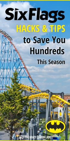 While the perfect Six Flags outfit is important you're gonna want to read these Six Flags hacks and money-saving tips so you can spend less while at the park. If you want to take the whole family to Six Flags, you need to avoid extra costs or find some Six Flags discounts. The Krazy Coupon Lady has the best legit hacks to save at Six Flags that'll save your family hundreds of dollars over the course of a season. Get ready to become a professional at outsmarting Six Flags and saving money. Six Flags, Coupon Lady, Money Saving Tips, Save Yourself, Budgeting, Travel Tips, How To Become, Road Trip, Hacks