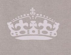 Underlägg krona - grå 1 HemmetsHjarta