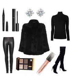 """""""London 7"""" by gennijan on Polyvore featuring Balmain, The Row, Blugirl, Majestic Filatures, Tom Ford, Burberry, Marc Jacobs, Chanel, women's clothing and women"""