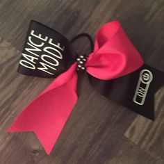 A personal favorite from my Etsy shop https://www.etsy.com/listing/449987242/dance-mode-cheer-mode-hair-bow-with