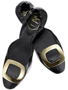 roger vivier flats--I love these shoes!!! via: