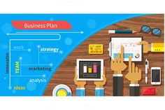 Check out Business plan strategy by robuart on Creative Market