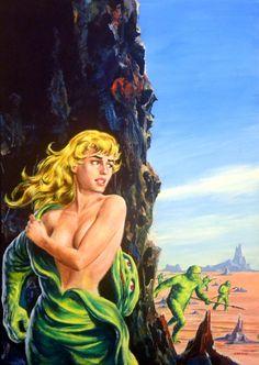 Super-Science Fiction - February 1959 Comic Art