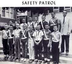 1961 Trinity Lutheran School Yearbook Safety Patrol