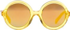 Yellow Lenny Sunglasses