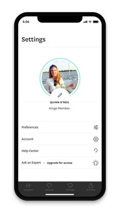 Settings screen ui on Hinge. Settings screen u Ui Design Mobile, Mobile Application Design, Best App Design, App Ui Design, Android App Design, Iphone App Design, Kenny Loggins, Bon Scott, Lionel Richie