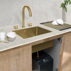 Dual Control Taps from Caple in the UK Sink Taps, Sinks, Wine Chiller, Wine Cabinets, Color, Design, Home Decor, Colour, Homemade Home Decor