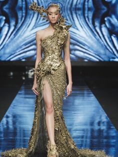 The Revelation collection by Tex Saverio GUILDED & ASYMMETRICAL Rococo architecture