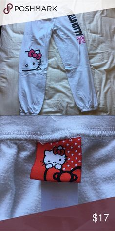 hello kitty pants cozy and cute Hello Kitty Pants Track Pants & Joggers