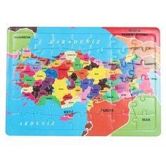 42 Parça Türkiye Haritası Puzzle