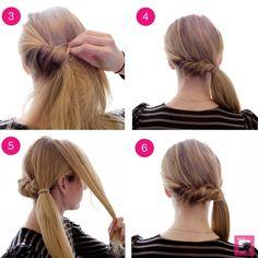 How To: Side Pony Roll-and-Twist