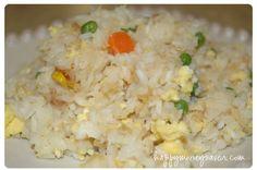 Fried Rice recipe--Freezer Meal  :)