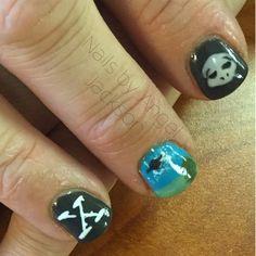 X files nail art