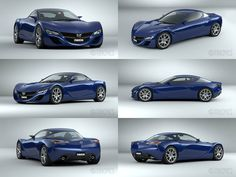 Mazda RX9 2012 Concept WIP5 by The-IC.deviantart.com on @DeviantArt